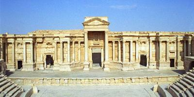 Le théâtre antique de Palmyre