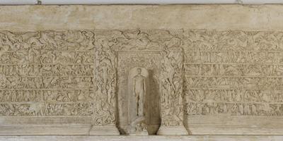 Mur du héros, Temple de l'Homme, 1925.