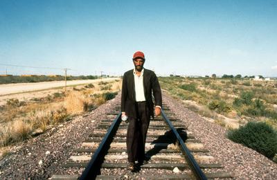 Harry Dean Stanton dans «Paris, Texas».