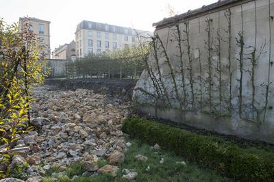 La réfection des murs effondrés et/ou décrépis coûterait 4 millions d'euros.