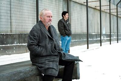 Niels Arestup au côté de Tahar Rahim, dans Un Prophète.