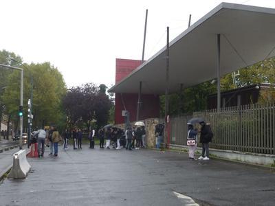 Le lycée Théodore-Monod à Noisy-le-sec (93). Crédits photo: Caroline Piquet