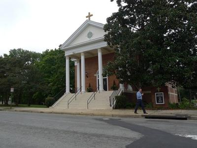 L'église St Elizabeth à Richmond.