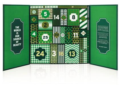The Body Shop commercialise des calendriers dont les prix sont compris entre 85 et 115 euros. Crédit: The Body Shop