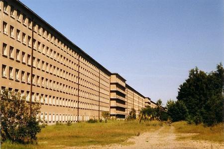 Complexe gigantesque, le «prora» est l'une des nombreuses constructions ordonnées pendant le IIIe Reich.