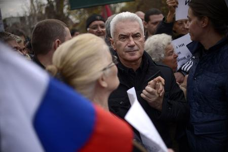 Volen Siderov, leader ultra-nationaliste d'Ataka.