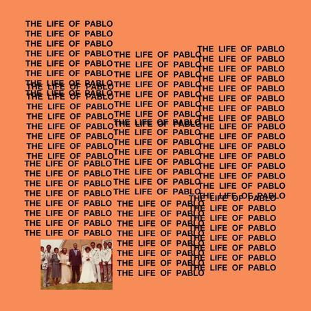 Pochette «The Life of Pablo».