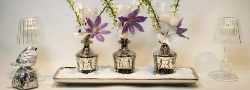 Fleurs: des bouquets chics à la table du réveillon