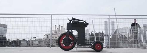 Le M-Scooter : l'engin à conduire assis ou debout