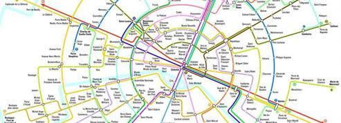 Une nouvelle carte du métro parisien qui simplifie la vie