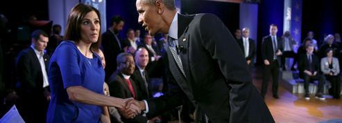 Obama converse avec l'Amérique sur la question des armes