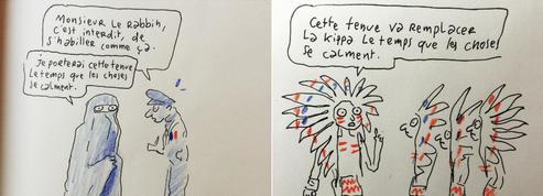 Joann Sfar réagit avec humour sur la polémique de la kippa
