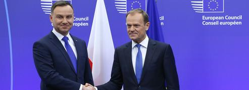 À Bruxelles, le président polonais tente de calmer le jeu