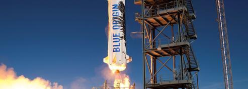 La fusée du PDG d'Amazon devient vraiment réutilisable