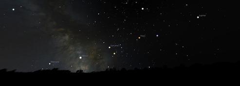 Un alignement des planètes exceptionnel observable à l'œil nul dans le ciel du matin