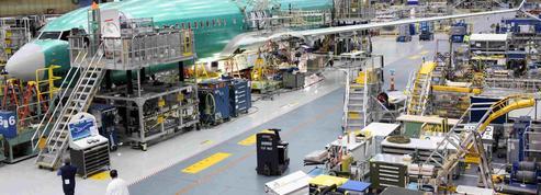 Sérieux trou d'air pour les avions de ligne de Boeing