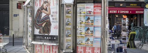 La presse a perdu mille points de vente en 2015