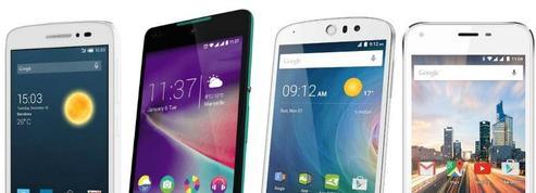 Les meilleurs smartphones pas chers à moins de 100 euros