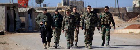 Les troupes syriennes progressent vers Alep