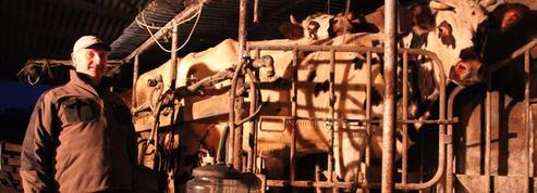 Jean Médard, producteur laitier et symbole de cette agriculture qui souffre