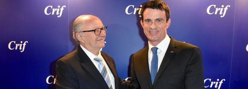 Dîner du Crif: pour Valls, «l'antisionisme est synonyme de l'antisémitisme»