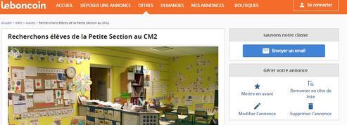 Une école cherche de nouveaux élèves sur le Bon Coin