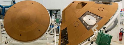 Une capsule doit se poser sur la planète Mars