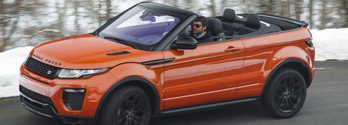 Range Rover Evoque Cabriolet, sans toit mais pas sans abri
