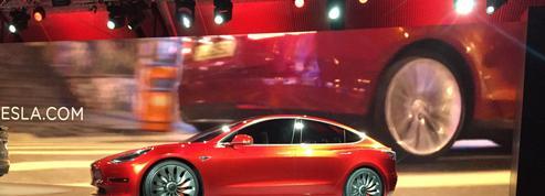 Avec son Model3, Tesla lance une voiture à prix accessible