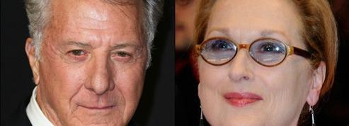 Un livre révèle que Meryl Streep a été giflée par Dustin Hoffman