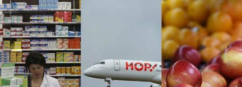Pub mensongère de Leclerc, tarifs Air France, alloc «fruits et légumes»: le récap conso de la semaine