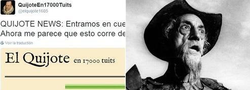Don Quichotte, nouvelle star de Twitter