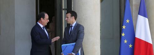 Macron fait marche arrière face à Hollande mais irrite de plus en plus