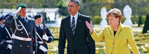L'hommage de Barack Obama à sa partenaire Angela Merkel