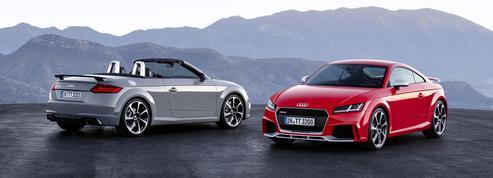 Audi TT RS, une pierre dans le jardin Porsche