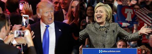Trump et Clinton triomphent dans le «Super Tuesday du nord-est»