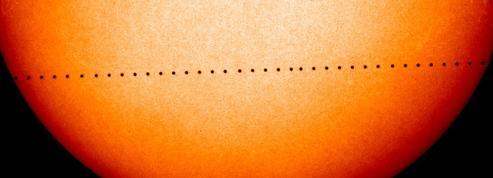 Lundi, Mercure sera visible devant le Soleil