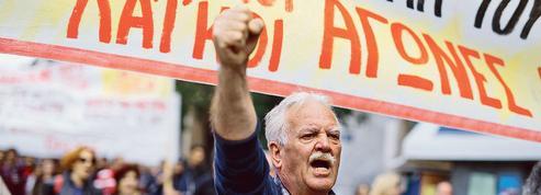 La Grèce à l'arrêt pour protester contre les réformes dictées par les créanciers