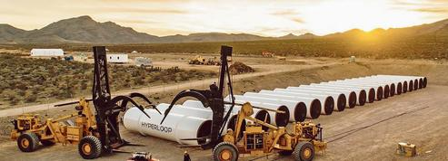 Hyperloop One teste le train du futur