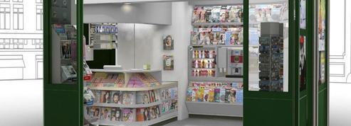 Les kiosques à journaux de Paris se modernisent