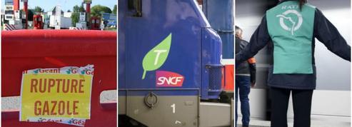 Raffineries, SNCF, RATP, Air France, EDF : les foyers de grèves se multiplient