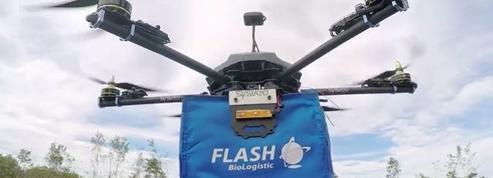 À Bordeaux, des drones livreront bientôt les hôpitaux