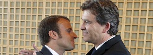 «Costard» de Macron: Montebourg attaque, le gouvernement cafouille