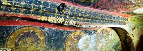 Des fresques byzantines exhumées en Turquie
