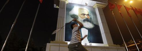 Marx redevient une idole en Chine