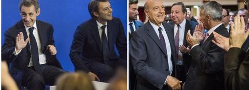 Sarkozy et Juppé se disputent les maires