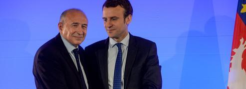 Gérard Collomb cajole ce «cher Emmanuel» Macron