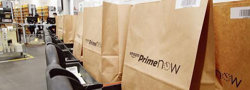 Amazon livre les Parisiens en une heure
