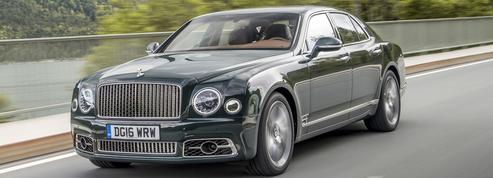 Bentley Mulsanne Speed, so typically british