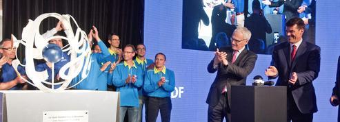 EDF et General Electric fêtent un record et trois symboles